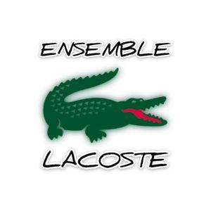 ENSEMBLE LACOSTE