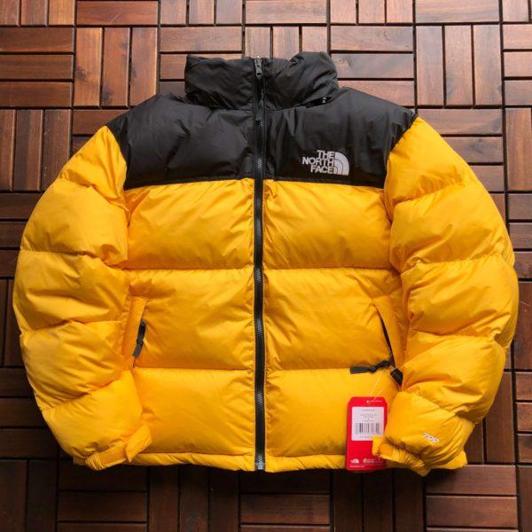 Doudoune jaune The North Face 1996 RETRO NUPTSE UNISEX